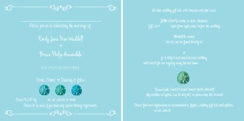 E-Wedding Invite for blog
