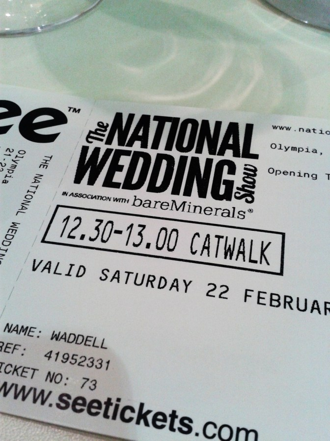 Kensington olympia wedding