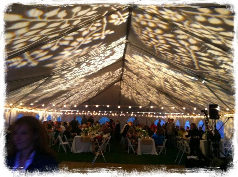 Ceiling-gobo-leaves-lights